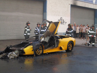 $350K Brooklyn Lamborghini Fire Caused By DVD Player