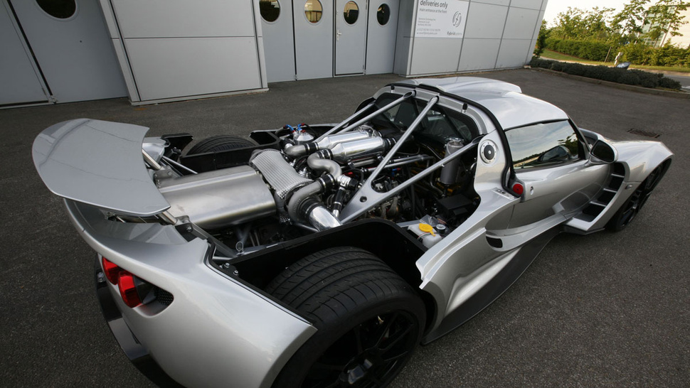 Hennessey Venom GT: The 1,200 HP Veyron-Killer