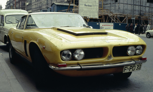 Iso Grifo: The Mother of All Power Bulges