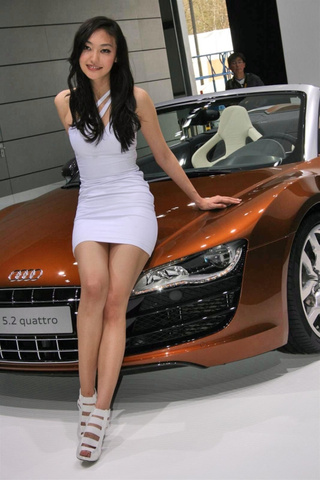 Booth Professionals Of The 2010 Beijing Motor Show