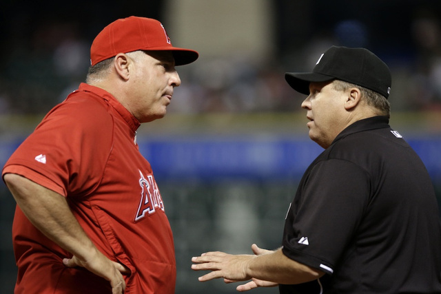 MLB Has Disciplined The Umps From Last Night's Angels-Astros Ga…