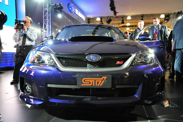 Gallery: 2011 Subaru WRX STI Sedan And Hatchback