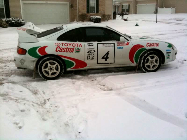 Sega Rally Fan Turns Car Into Video-Game Star