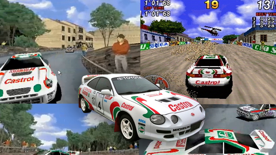 <em>Sega Rally</em> Fan Turns Car Into Video-Game Star