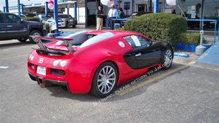 Bugatti Veyron Corvette ZR1 Trade-In: Sale Photos