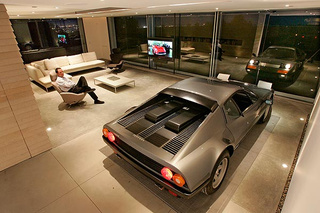 L.A. Ferrari Owner Builds Dream Garage, Whiny Neighbors Wake Him Up