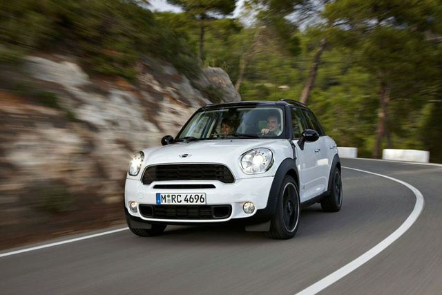 Mini Countryman Crossover: First Photos