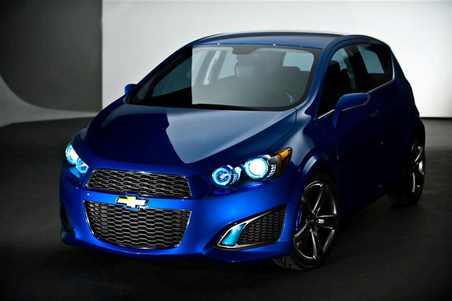 Chevrolet Aveo RS Concept: Big Mouths Are Hot