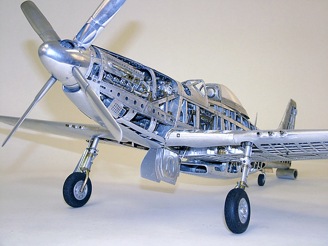 Retired Dentist Builds Amazingly Intricate All-Aluminum WWII Fighter Models