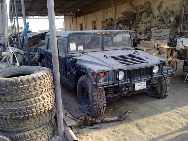 Doha Junkyard Finds Gallery