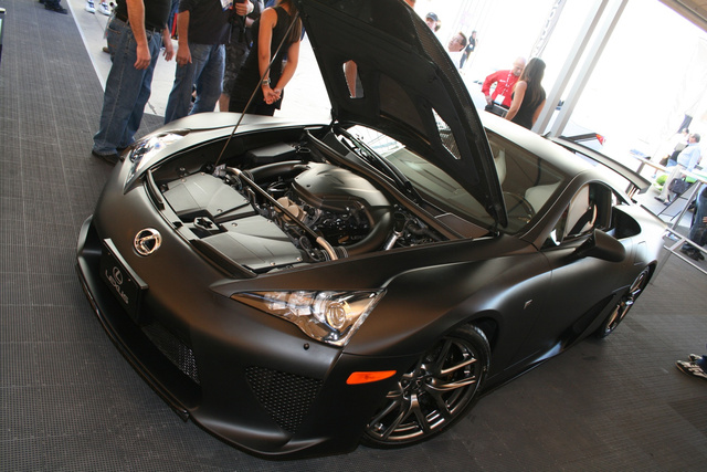 Lexus LFA At SEMA