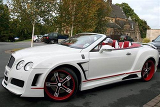 Bentley Continental GTC Wishing For Sweet Embrace Of Death