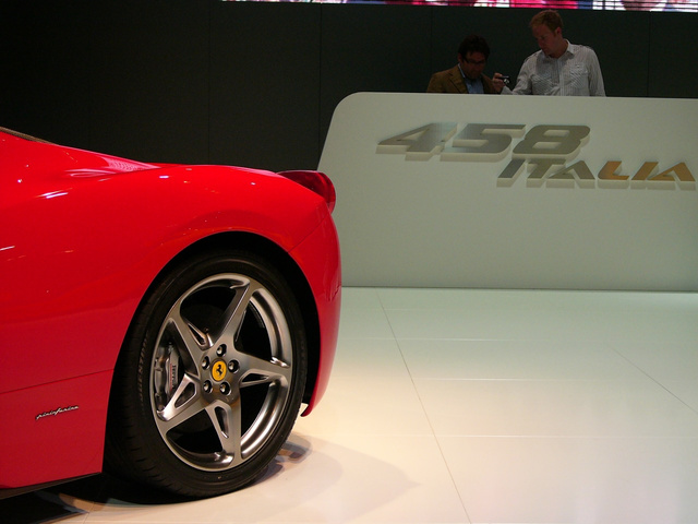 Ferrari 458 Italia: Live Photos!