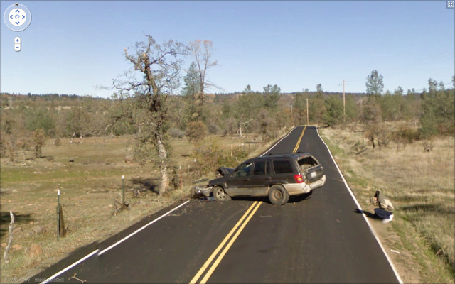 Ten Most Confusing Google Street View Accidents