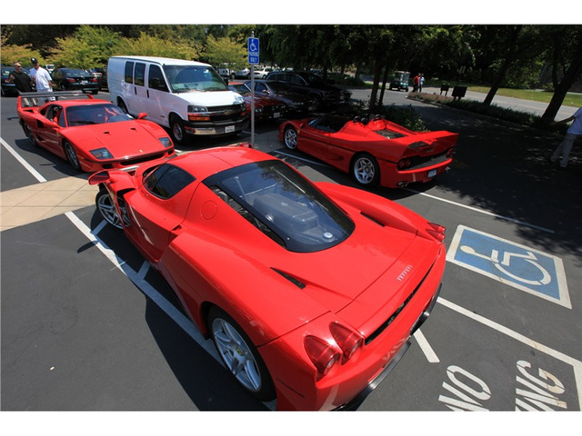 Handicapped Ferraris