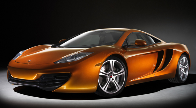 McLaren MP4-12C: First Photos