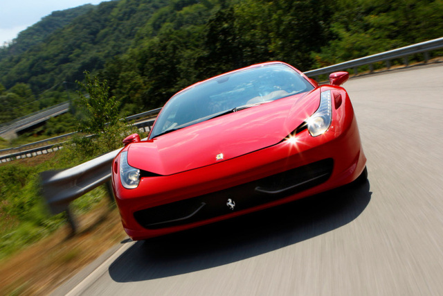Ferrari 458 Italia Hits The Road, Reveals Interior