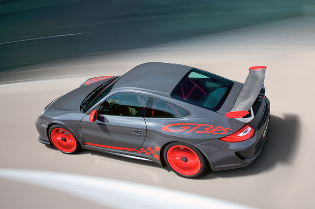 2010 Porsche 911 GT3 RS: Track-Ready, Street-Legal And More Power