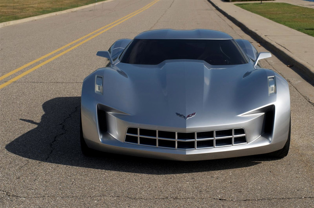 Corvette Stingray Concept: Exterior
