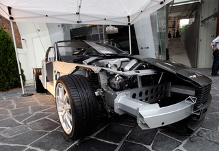 Half A Cutaway Aston Martin DB9 Is Twice As Sexy