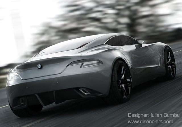 BMW S.X Concept: A Worthy 6-Series Replacement?