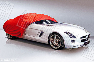 Round Two Of Mercedes SLS Gullwing Images Leak!
