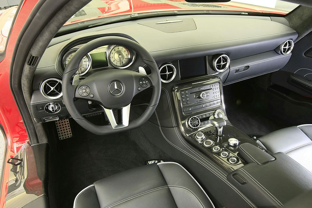 Mercedes AMG SLS Gullwing Teasers Show Off Simple, Sexy Interior