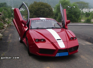 "Chinese Tuner Builds Ferrari ""Ch-Enzo"" Out Of Geely Coupe"