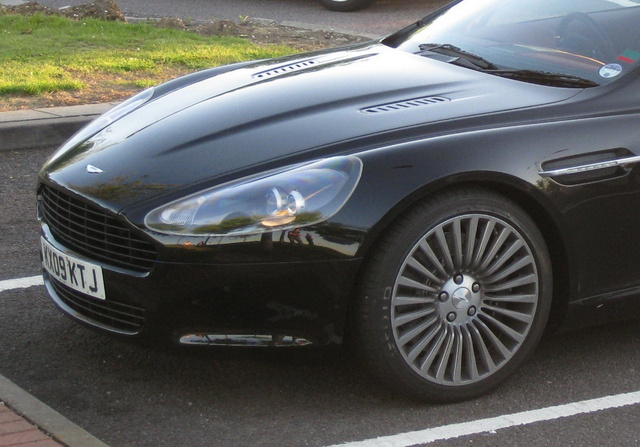 Production Aston Martin Rapide Shows Off SexyBack In Parking Lot