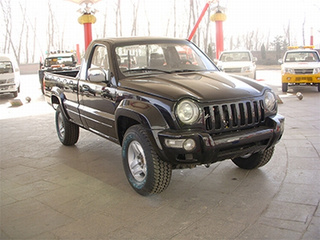 Libertypage: A Chinese-Built Jeep Liberty Pickup Is, Un-Surprisingly, Quite Ugly