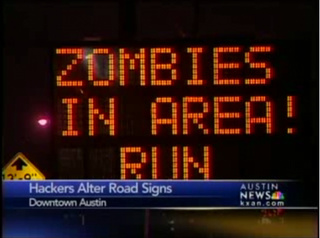 Hacked Electronic Road Sign Mega-Gallery