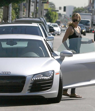 Lauren Conrad Drives An Audi R8