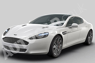 """Official"" 2010 Aston Martin Rapide CAD Images Rendered"