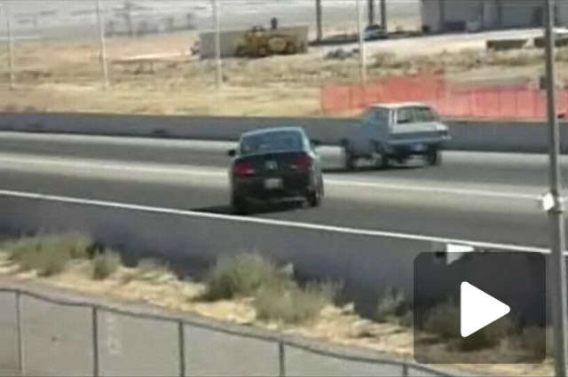 Mustang Bullitt Takes Right Turn At Albuquerque (Dragway)