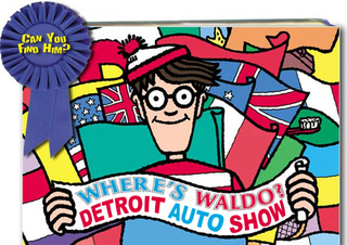 Where's Waldo: Win A Bag Of Detroit Auto Show Swag