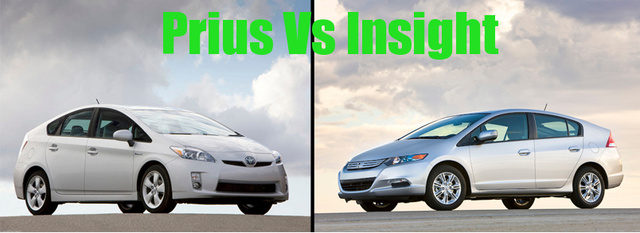 By The Numbers: 2010 Toyota Prius Vs 2010 Honda Insight