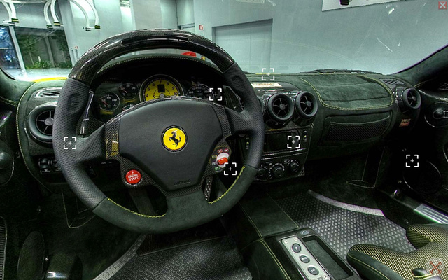 Amazing Ferrari F430 Spider Scuderia 16M In-Seat Visualization