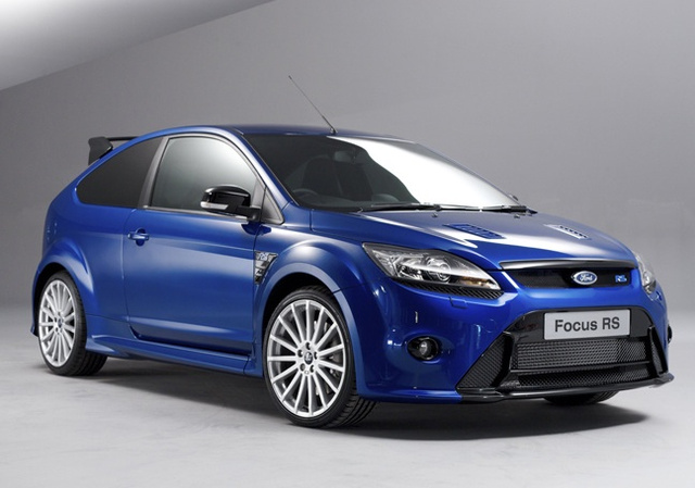 2009 Ford Focus RS: I'm Blue!