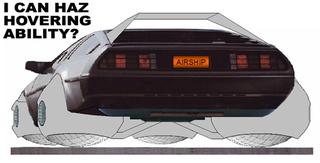 Automotive X Prize Contestant To Build Hover DeLorean