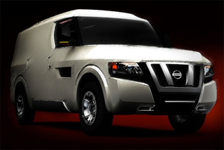 Nissan To Unveil NV2500 Concept In Video Webcast December 4th
