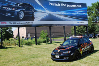 Subaru Ups Law Enforcement Street Cred With STi Police Car
