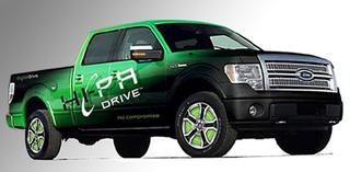 Ford, PML Flightlink Hauling Plug-in Hybrid F-150 Pickup To SEMA