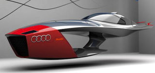 Audi Calamaro Flying Concept Car Takes Future Design Competitions To Higher Level