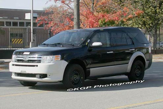 First Photos Of New Car-Based Ford Explorer