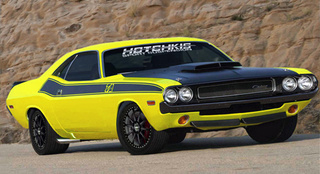 Hotchkis Mods New Challenger, Defiles 1970 Challenger T/A 340 Six-Pack