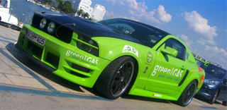 German LPG Enthusiasts Create 300 HP Natural Gas Mustang GT