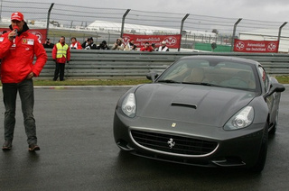 Michael Schumacher Shows Off Ferrari California On The Nürburgring