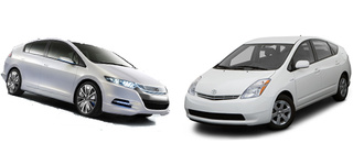 Jalopnik Paris Pissing Match: Honda Insight vs. Toyota Prius