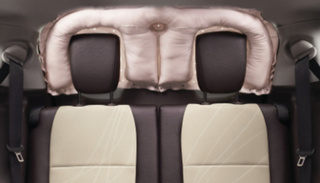 Toyota Develops First Rear-Window Curtain-Shield Airbag, Opening New Front In Safety Wars