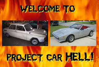 Project Car Hell, Alphabet Soup Edition: TVR or NSU?